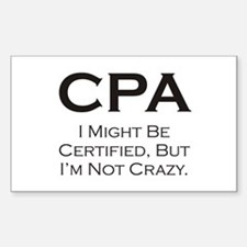 CPA #3 Rectangle Decal