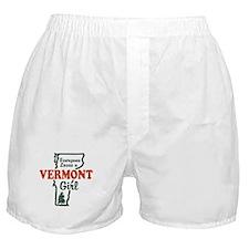 Everyone Loves a Vermont Girl Boxer Shorts