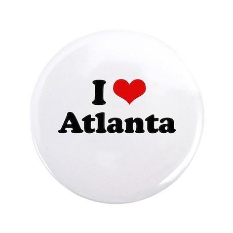 "I love Atlanta 3.5"" Button (100 pack)"