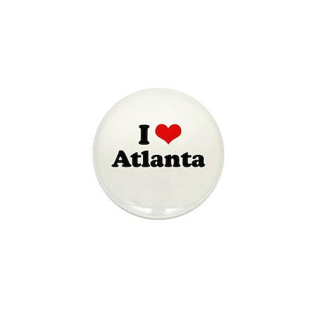 I love Atlanta Mini Button (10 pack)