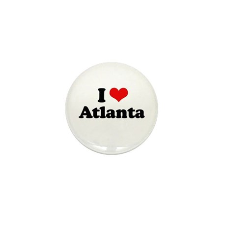 I love Atlanta Mini Button