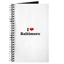 I love Baltimore Journal