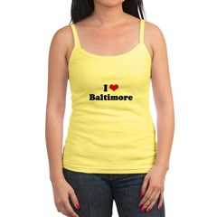 I love Baltimore Jr.Spaghetti Strap