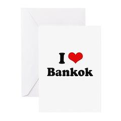 I love Bangkok Greeting Cards (Pk of 10)