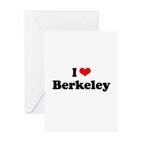 I love Berkeley Greeting Card