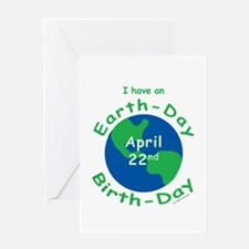 Earth Day Birthday Greeting Card
