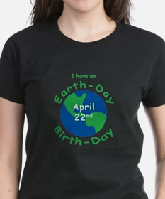 Earth Day Birthday Tee