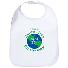 Earth Day Birthday Bib