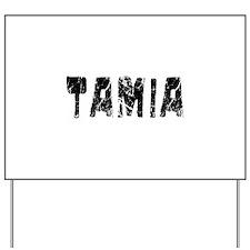 Tamia Faded (Black) Yard Sign