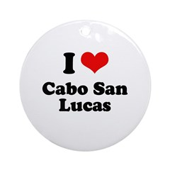 I love Cabo San Lucas Ornament (Round)