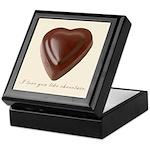 Love You Like Chocolate Keepsake Box