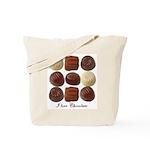 Mom Loves Chocolate Tote Bag