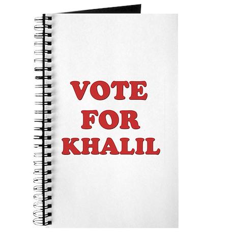 Vote for KHALIL Journal