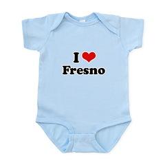I love Fresno Infant Bodysuit
