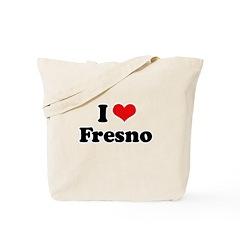 I love Fresno Tote Bag