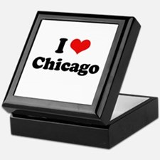 I love Chicago Keepsake Box