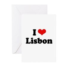 I love Lisbon Greeting Cards (Pk of 20)