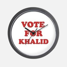 Vote for KHALID Wall Clock