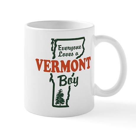 Everyone Loves a Vermont Boy Mug
