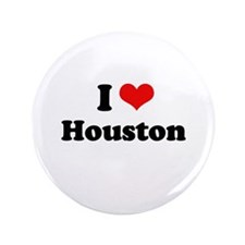 "I love Houston 3.5"" Button (100 pack)"