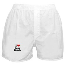I love Long Beach Boxer Shorts