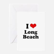 I love Long Beach Greeting Card