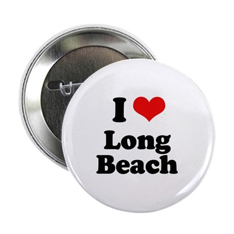 "I love Long Beach 2.25"" Button (100 pack)"