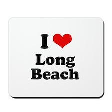 I love Long Beach Mousepad