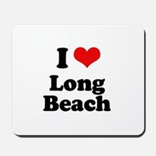 I love Long Beach Mousepad