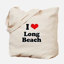 I love Long Beach Tote Bag