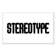 Stereotype Rectangle Decal
