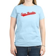 Retro San Benito (Red) T-Shirt