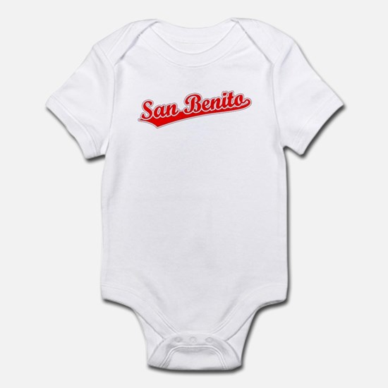 Retro San Benito (Red) Infant Bodysuit