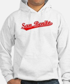 Retro San Benito (Red) Hoodie