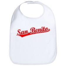 Retro San Benito (Red) Bib