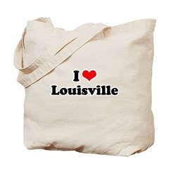 I love Louisville Tote Bag