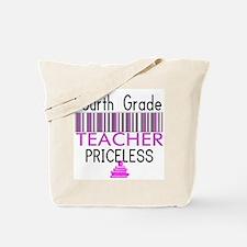 Fourth Grade Teacher Priceles Tote Bag