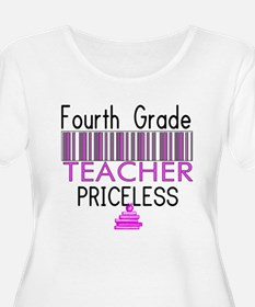 Fourth Grade Teacher Priceles T-Shirt