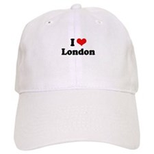 I love London Baseball Baseball Cap
