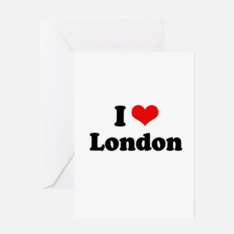 I love London Greeting Card