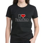 I love London Women's Dark T-Shirt