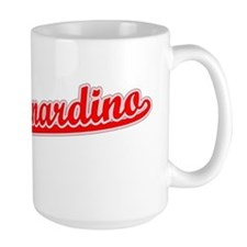 Retro San Bernardino (Red) Mug