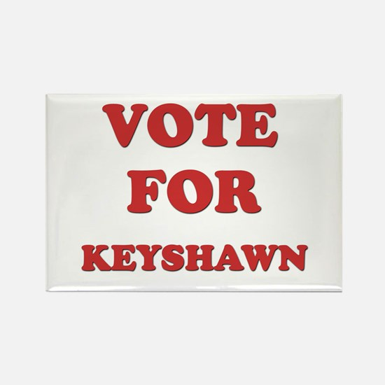 Vote for KEYSHAWN Rectangle Magnet