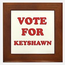 Vote for KEYSHAWN Framed Tile
