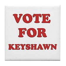 Vote for KEYSHAWN Tile Coaster