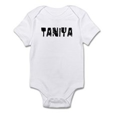 Taniya Faded (Black) Infant Bodysuit