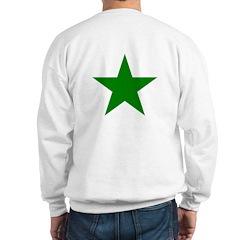 Green Star Sweatshirt
