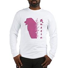 Aussie Head Silhouette Long Sleeve T-Shirt