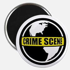 Crime Scene Magnet