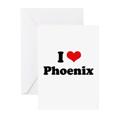 I love Phoenix Greeting Cards (Pk of 20)